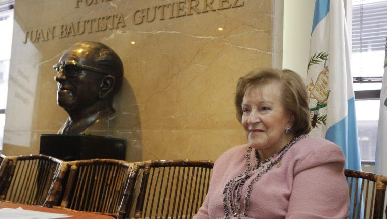 Fallece Isabel Gutiérrez de Bosch, impulsora de la educación en Guatemala